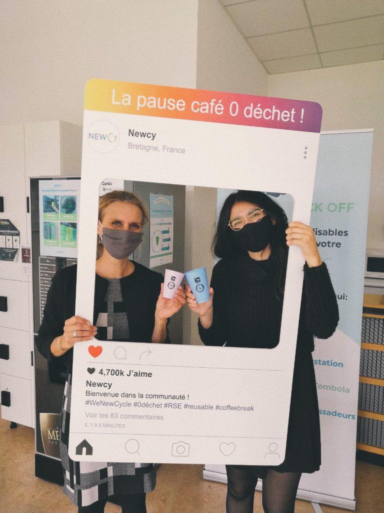 La Région Bretagne passe aux gobelets réutilisables Newcy